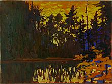 Key. L Oil on Canvas Canada