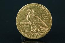 American Gold Coin Indian 2.5 Dollar 1925