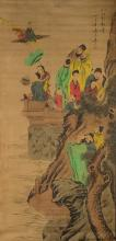 Chinese Painting of Eight Immortals Signed
