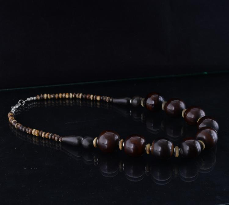Chinese Prayer Beads Necklace