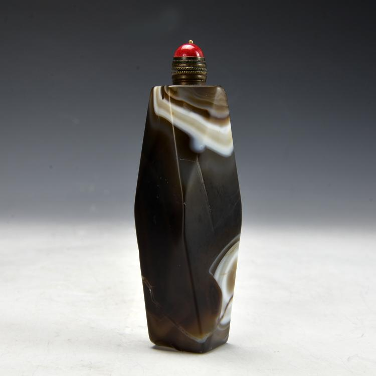Chinese Agaet Snuff Bottle