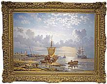 GEORGE INNESS OPDENHOF, (Dutch 1807-1873)