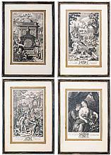 SAMUEL GARTH, OVIDS METAMORPHOSIS, 1717, TITLE PAGE &