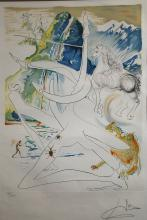 SALVATORE DALI, (SPANISH, 1904-1989) UNTITLED, LITHO