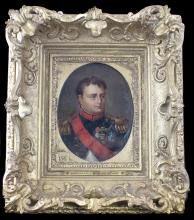 PORTRAIT OF NAPOLEON BONAPARTE AS EMPEROR O/C
