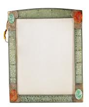 FINE CHINESE PIERCED JADE TABLE FRAME