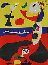 JOAN MIRO (SPANISH,1893-1983),