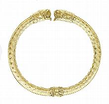 18 KARAT YELLOW GOLD BANGLE BRACELET