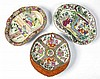 3 CHINESE EXPORT ROSE MEDALLION PORCELAIN SERVING BOWLS