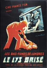 FRENCH D.W. GRIFFITHS MOVIE POSTER