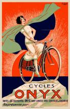 2 BICYCLE POSTERS: