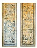 PAIR OF EUROPEAN CHINIOSIERE TAPESTRY PANELS
