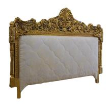 FRENCH CARVED GILTWOOD HEADBOARD