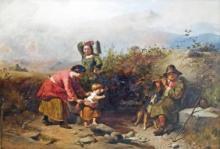 CONTINENTAL SCHOOL (19TH CENTURY), OIL ON CANVAS