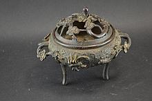 Incense burner, bronze