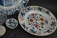 A lot of Chinese porcelain 18th/19century