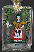 Bohemian gin bottle