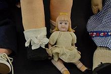 Cloth doll, type Lenci