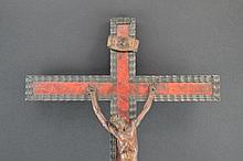 Crucfix on tortoise shell cross