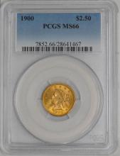 MS 66 1900 PCGS $2.50 Gold Quarter Eagle