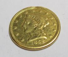1852 O Better Date $ 2.5 Liberty Gold