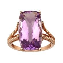 8 ct Amethyst Cocktail Ring