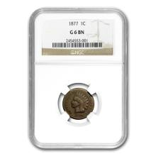 1877 Indian Head Cent Good-6 NGC