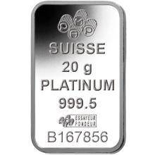 20 Gram Platinum Pamp Suisse Bar