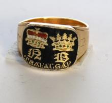 An important  Nelson Mourning Ring