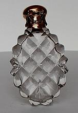 Faberge Two-Colour Gold crystal Perfume Bottle