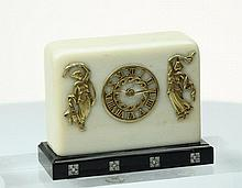 Art Deco minature Clock