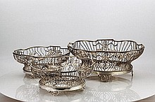 Edward VII English Centrepiece Garniture 1907/08