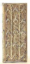A French Silver Etui in the Form of a Book,