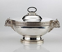 Magnificent Tiffany Silver Tureen C1855