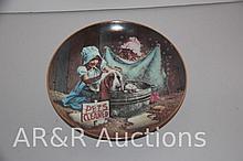 Plate: Don Crook - 1986 Western Art