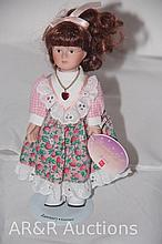 Russberrie & Co. Porcelain Doll