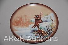 Plate - The Little Critters by Lowell Davis - 2472-1 Cottontail Rabbit