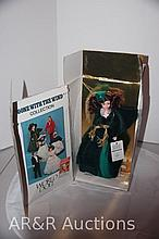 GONE WITH THE WIND World Doll - SCARLETT O'HARA in Green Velvet Dress