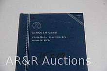 Lincoln Cent Collections - 1941 - Number 2