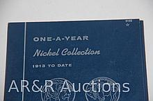 One - A- Year Nickel Collection - 1913