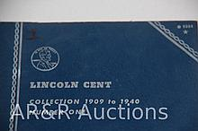 Lincoln Cent Collections -1909 thru 1940 - Number 1