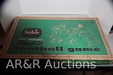Tudor Tru Action Electric Football Game Model 500 Original Box & Pieces