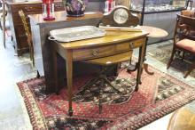 George III Style Mahogany Side Table,