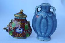 Two Chinese Snuff Bottles,