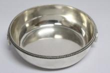 George III Sterling Silver Twin Handled Serving