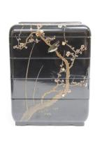 Japanese Lacquer Four Tiered Jubako Box,