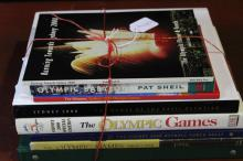 Eight  Assorted Olympic Reference Books,