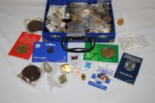 Collection of Various Olympic Pins,