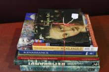 Eight Art Reference Books,