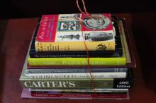 Assorted Antique Reference Books,